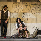 La boheme production image (C) ROH 2020. Photo by Tristram Kenton